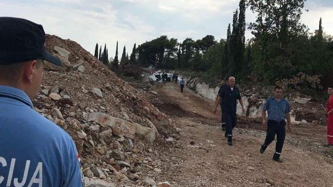 Ozlijeđeno troje ljudi: Avion je pao u blizini Dubrovnika