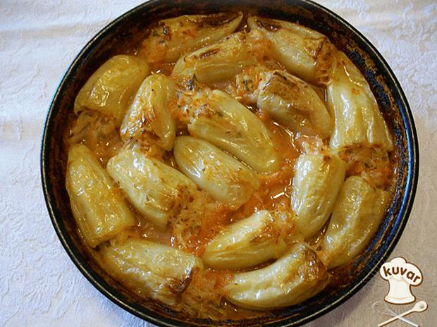 Paprike punjene krompirom moje svekrve