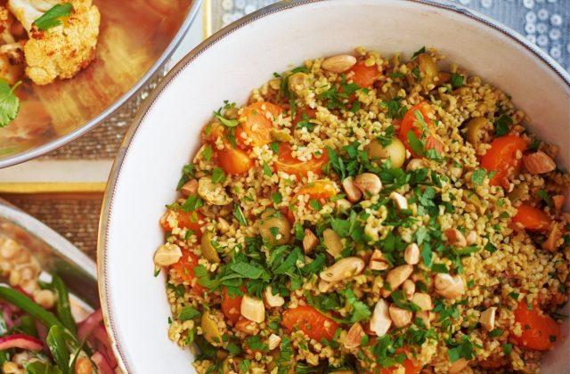 Bulgur recept za salatu od pšenice, badema i klementine