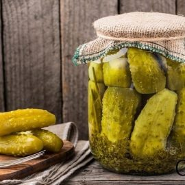 HOMEMADE WINTER: The best and most crispy pickles checked!